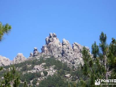 Circo de La Pedriza;bastones trekking viajes de aventura rutas de toledo